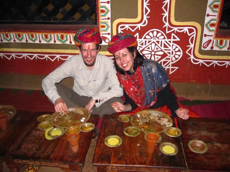 dinner-in-chokhi-dhani