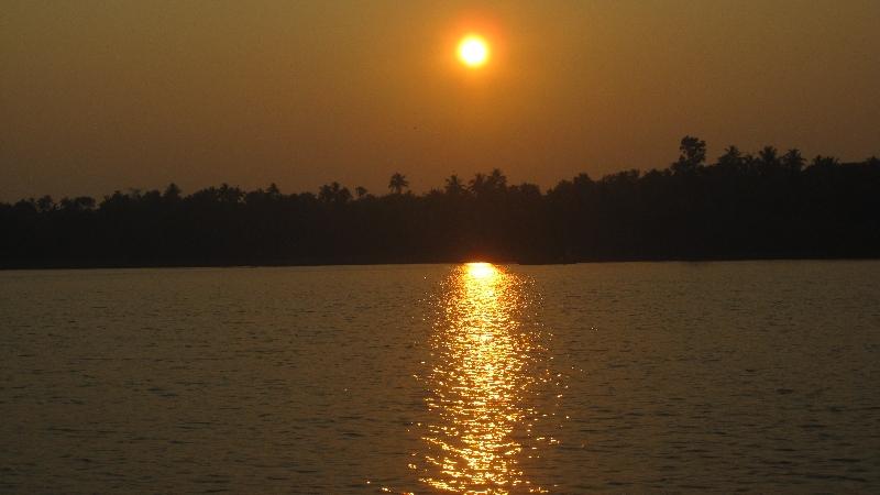 backwaters-sunset