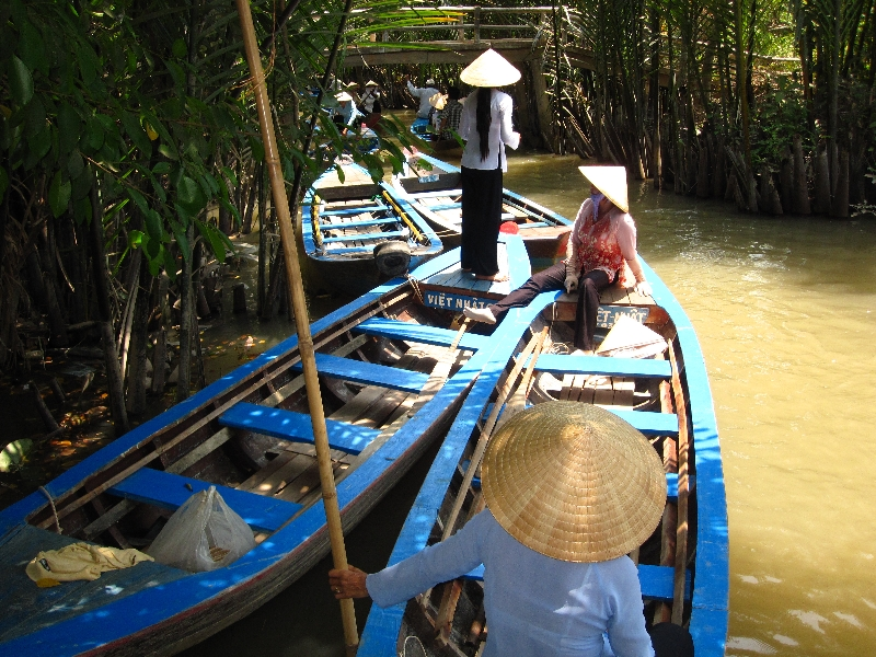 reise på mekong