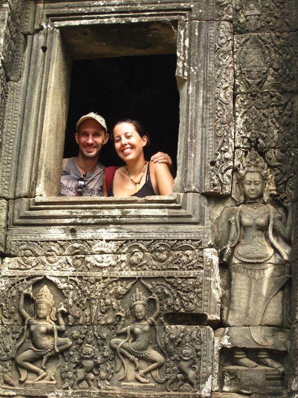 maria-and-bjoern-at-angkor-thom