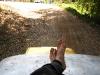 dirty-trekkingfeet-driving-home