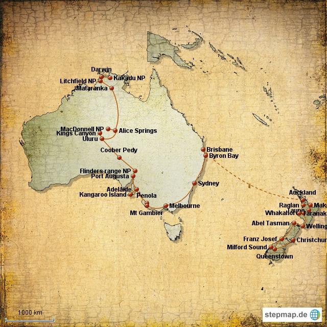 Weltreise Ozeanien Erfahrungsberichte