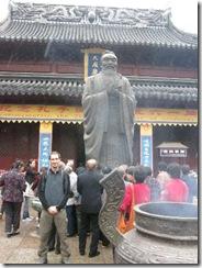 4b Fuzi confuzius tempel statue