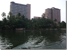 Buildings of Ammas Ashram in Kerala
