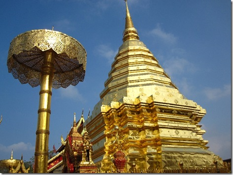 Tempel on Doi Suthep, Chiang Mai