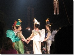 Thai dancing show
