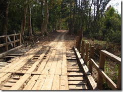 one road in Laos
