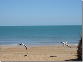 Beautyfull, empty beach in Darwin
