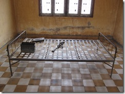 Tuol Sleng (S21), a cell