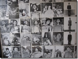 some of the tortured prisonners by khmer rouge in S21