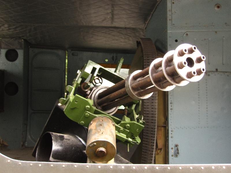 Amerikanisches Maschinengewehr aus dem Vietnam Krieg