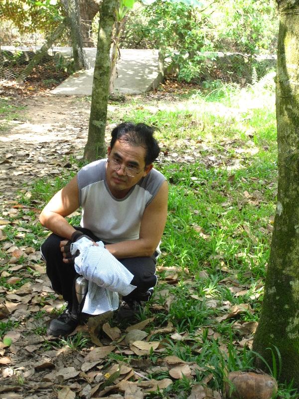 Tien, une victime de la guerre du Vietnam - il a combattu contre Ho Chi Minh