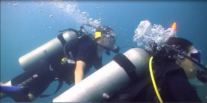 Wir atmen unter Wasser