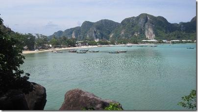 Loh Dalum Bay in Thailand - der Strand ist schön