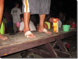 Tanzen auf dem Strand ist in Thailand immer drin