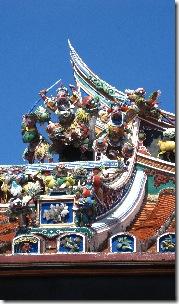 Cheng hoon teng - malaisias oldest chinese temple (1646), Melaka - schmal