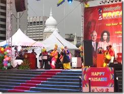 Najib Razak hat beim Sikh Neujahr Vaisakhi viel von One Malaysia gesprochen