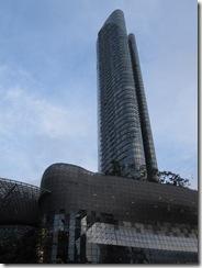 Moderne Wolkenkratzer in Singapur