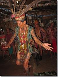 Ngajat Iban dance
