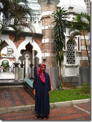 Maria in einer malayischen Moschee