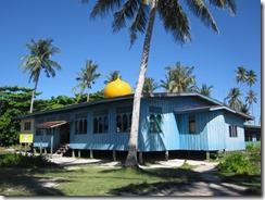 Moschee auf Sipadan