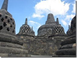 Borobudur in Java, Indonesien