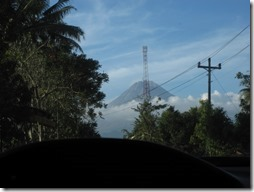 Fahrt zum Vulkan Merapi - Indonesien