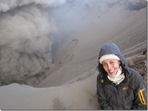 Maria zum Fallen nah am Kraterrand