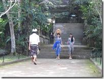 Balinesinen beim Galungan Festival
