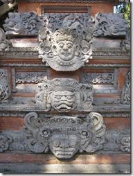 Balinesische Fresken