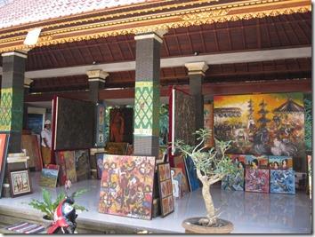 Galerie d'art à Ubud