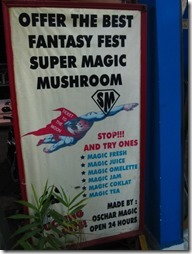 Magic Mushrooms in Kuta