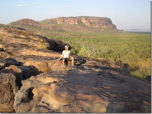 Nawurlandja Walkway - Kakadu Nationalpark in the sunset