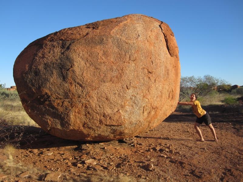 Devil Marbles - heavy stones