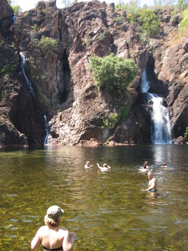 Tolmer Falls Wasserfall in Australien