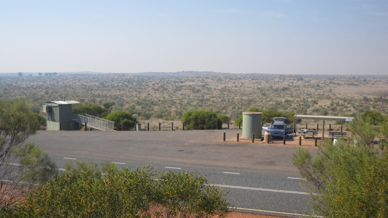 A typical restarea in Australia_Road Trip