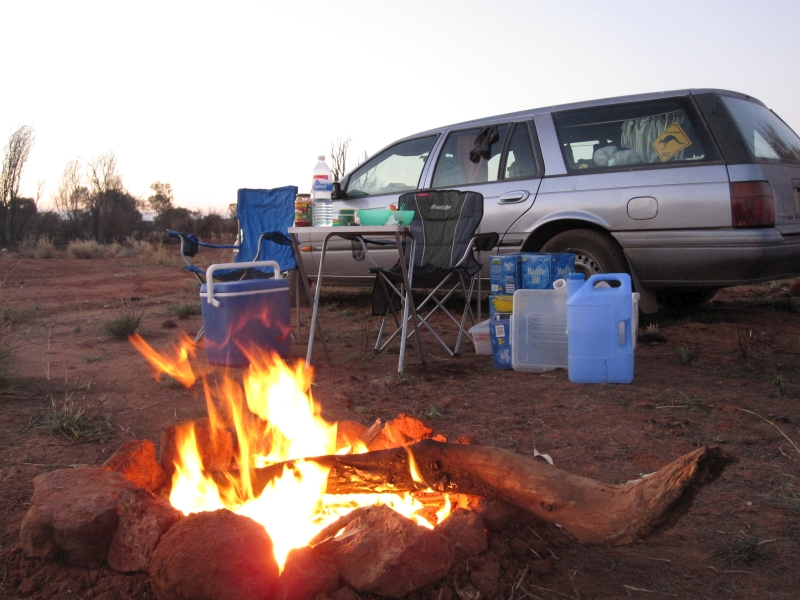 Kings Canyon - Campfire_Road Trip