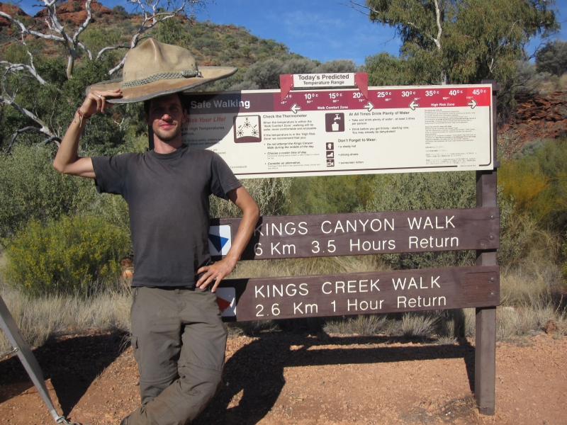 Kings Canyon - welcoming visitors_Road Trip