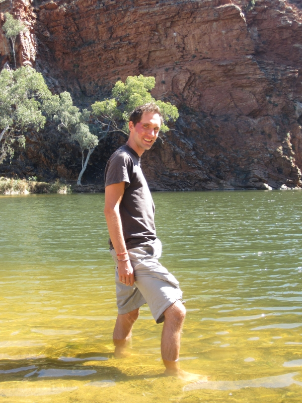 West MacDonnell Ranges - Chilly bighole water